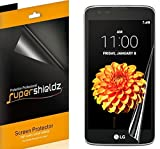 (2 Pack) Supershieldz Designed for LG K7 Screen Protector (Full Screen Coverage) Anti Bubble High Definition Clear Shield (TPU)