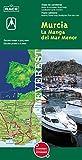 Mapa provincial de Murcia y La Manga del Mar Menor: Mapa de carreteras. Plano callejero. (Mapas provinciales / serie verde)