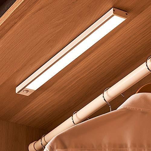 ORPERSIST Luz Led Inteligente del Sensor,USB Recargable Luz Nocturna,Nocturna InaláMbrica PortáTil,con Detector De Movimiento, Luz Suave para Cocina Armario Maletero Escaleras