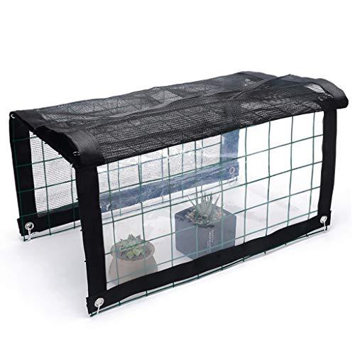 LIZIWS Greenhouse Type de Tunnel de Protection Solaire Anti-Pluie à Effet de Serre de Serre Chaude Grille 50 * 36 * 48cm / 100 * 36 * 48cm (Taille : 100 * 48 * 36cm)