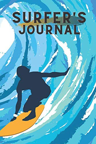 Surfer's journal: Practice planner - Surfer's Log Book - Training planner - 109 pages - 6 x 9 inches - Surf journal - Accessories surf - Gift sports