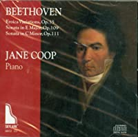 Beethoven: Eroica Variations & Sonatas, Op. 109 & 111 by Jane Coop