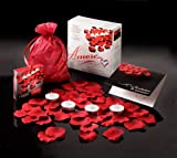 Valentine Amore Romantic Gift Set - Bed of Roses Scented floating silk...