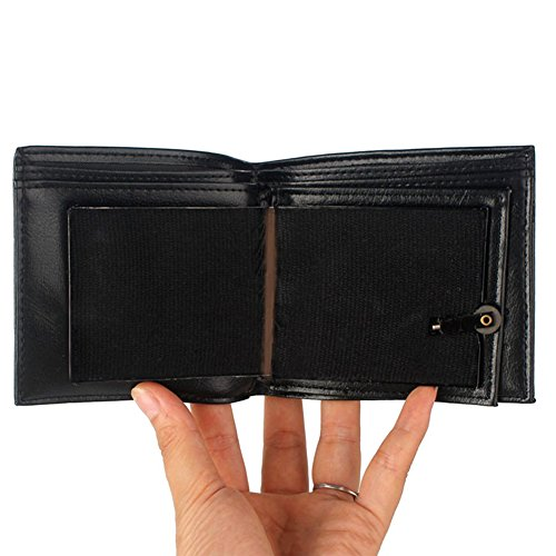 Amyove Flamme Brieftasche Zaubertrick Flamme Feuer Brieftasche Magier Trick Brieftasche Bühne Street Show Brieftasche