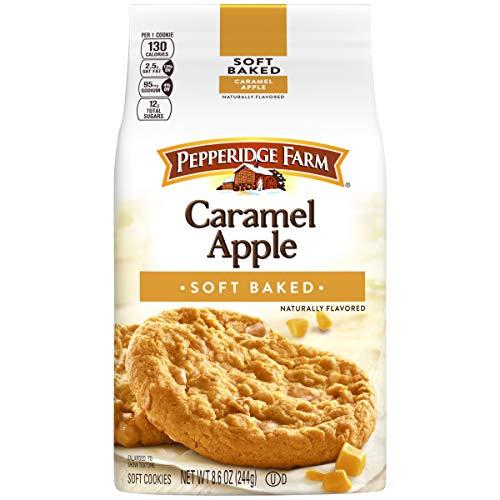 Pepperidge Farm Caramel Apple Pie Soft Dessert Cookies Limited Edition by Pepperidge Farm