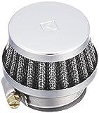 キタコ(KITACO) パワーフィルター(φ32/ストレート) 汎用 クロームメッキ 515-0000320