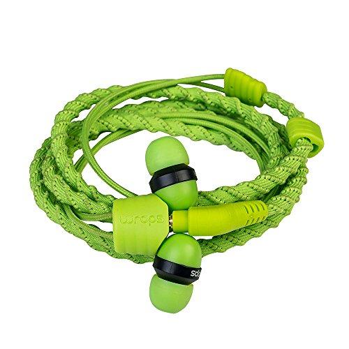 WRAPS Wristband Headphone - Fabric Green