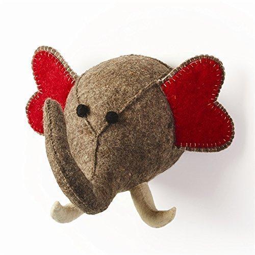 Peluche éléphant Trophée tête