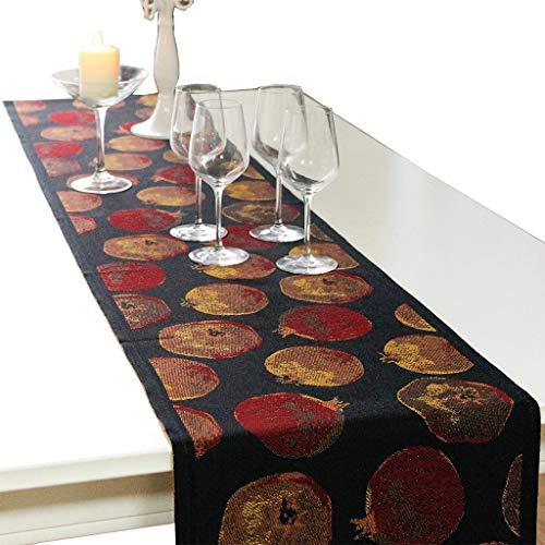 SJDZQ Mesa de algodon, Corredor y Granada para Mesa de Comedor, Mueble de TV, 5 tamanos para Elegir (tamano : 35×180cm)