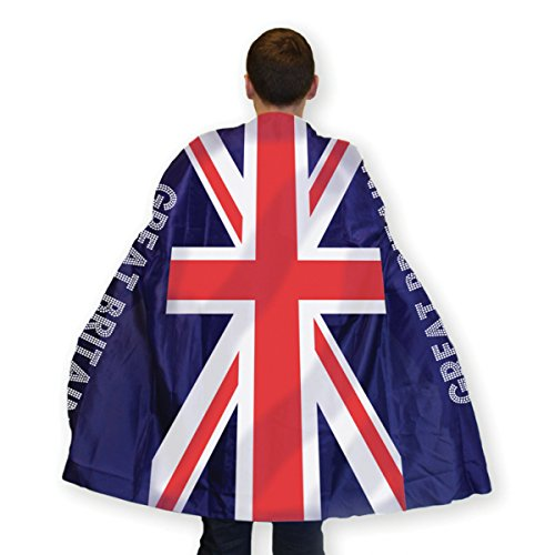 Great Britain Flag Body Cape (One Size Fits Most) [Toy] (Déguisement)