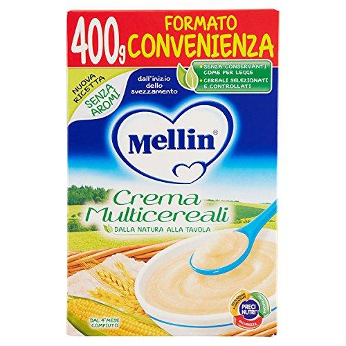 Mellin Crema Multicereali, 400 gr