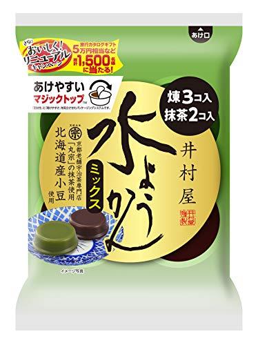 井村屋袋入水ようかんミックス5コ×10袋