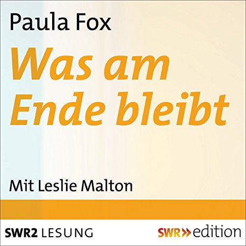 Was am Ende bleibt cover art