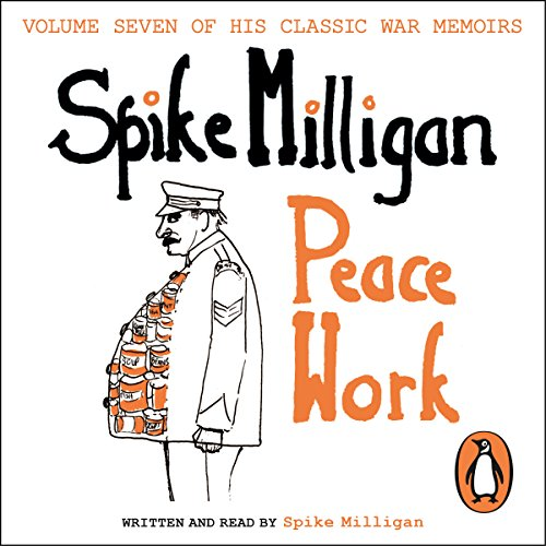 Peace Work audiobook cover art