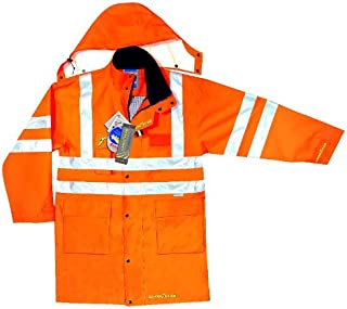 Goodyear – utomhusjacka, parka, hög synlighet 3XL Orange