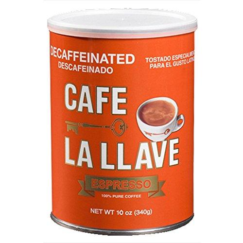 Café La Llave Decaf Espresso 10-Ounce Can