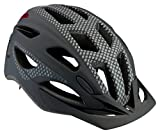 Schwinn Beam LED Lighted Bike Helmet with Reflective Design for Adults, Featuring 360 Degree Comfort System with Dial-Fit Adjustment, Matte Black