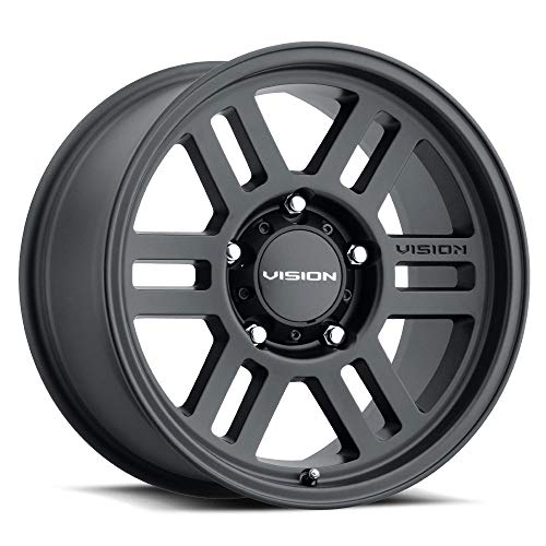 Vision Off-Road 355 Custom Wheel - Manx 2 Overland Series - Satin Gray - 17' x 9', 20 Offset, 6x135 Bolt Pattern, 87.1mm Hub