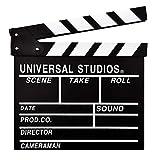 Hamnor Professional Movie Film Clap Board Large 12'x11' International Standard Hollywood Movie Clapboard