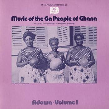 Volume I of Music of the Ga People of Ghana LP.