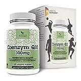 VITA1 Coenzym Q10 100mg • 120 Kapseln (4 Monate Vorrat) • Glutenfrei, vegan, koscher & halal •...