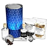 Juego para hacer ginebra en casa Ginventive, caja regalo con extractos naturales para hacer tu propia ginebra