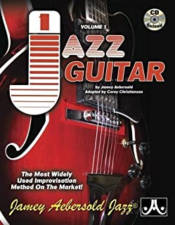 Jamey Aebersold Jazz, -- Jazz Guitar, Vol 1: The Most Widely Used Improvisation Method on the Market!, Spiral-Bound Book & 2 CDs (Jamey Aebersold Play-A-Long Series)
