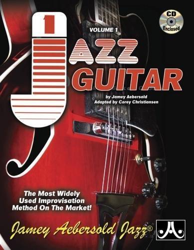Jamey Aebersold Jazz, -- Jazz Guitar, Vol 1: The Most Widely Used Improvisation Method on the Market!, Spiral-bound Book & 2 CDs (PlayAlong, Vol 1)