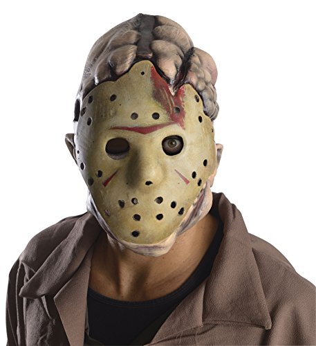 Rubie's Men's Friday The 13Th Jason Double Mask, Multi, One Size
