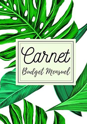 """Carnet budget mensuel: Livre de compte   7x10"""" 100 pages   gérez vos revenus et dépenses grâce à ce planificateur de budget   Calculez vos finances et ...   Journal de trésorerie facture et achat."""