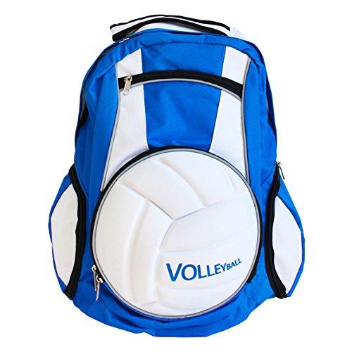 Sac à dos professionnel Diapolo - Pour volleyball, bleu/blanc