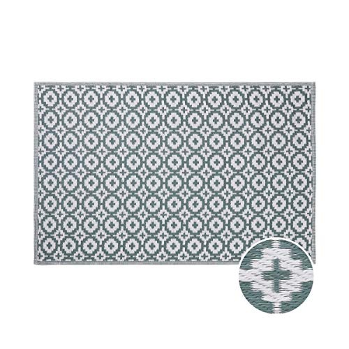 Butlers Colour Clash In- & Outdoor-Teppich Mosaik L 180 x B 118cm