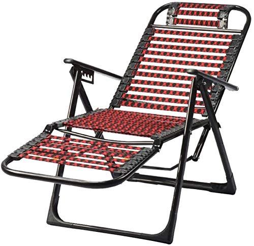 Lanrui Acampar sillas Plegables Silla de Playa reclinables Ligero con Respaldo Ajustable for Festivales de Campo Viajes caravanas Pesca de Playa Caminando al Aire Libre, picnics Senderismo