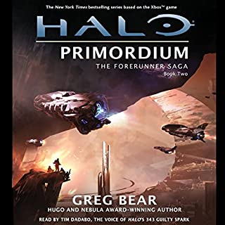 Halo: Primordium audiobook cover art