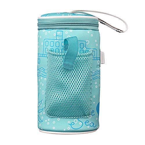 DOLA Portable Baby Bottle Warmer Bag, USB Heating Bottle Bag for Outdoor Traveling Baby Care