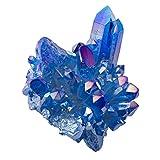 Artibetter 100 G di Pietra di Zaffiro Grezzo Pietra di Cristallo Blu Naturale Pietra di Cristallo di Guarigione Roccia di Quarzo Fai da Te Pietre di Pietre Preziose Blu (Forma Casuale)