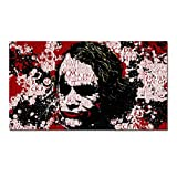 N / A Clown Poster Painting Print Modern Graffiti Canvas Wall Picture Graphic Living Room Decoration Frameless 70x140cm
