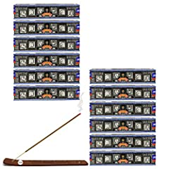 Hand Rolled Incense Sticks: To offer fine quality with every incense stick you lighten up, these incense sticks are hand rolled to deliver handmade uniqueness Environment Friendly: These incense sticks are made using natural extracts and does not con...