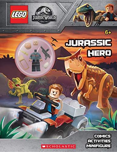Jurassic Hero (Lego Jurassic World: Activity Book with Minifigure)
