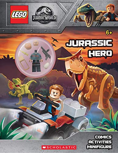Jurassic Hero (Lego Jurassic World: Activity Book with Minifigure)