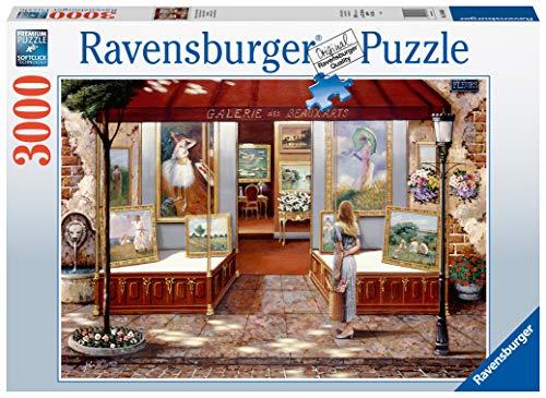 Ravensburger Puzzle Galleria di Belle Arti Puzzle 3000 pz Illustrazioni, Puzzle per Adulti