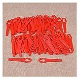 WLLOVE 100 UNIDS CHOADS CHOADS Colgantes plásticos Ajuste para Lidl Florabest FRT18A FRT18A1 Art 46155 FRT20A1