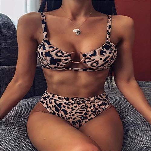 Bikini Sexy Snake Print Bikini High Waist Weiblicher Badeanzug Frauen Bademode Tanga Push Up Bikinis Set Badeanzüge Für Badeanzug L 18