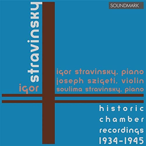 Igor Stravinsky, Joseph Szigeti & Soulima Stravinsky