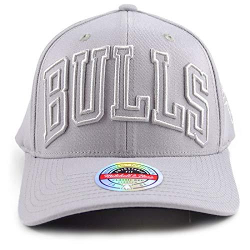 Mitchell & Ness Gorra con diseño de Chicago Bulls Cool Grey Redline