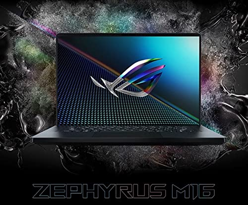 ASUS ROG Zephyrus M16 GU603HE-KR051TS i7-11800H/ RTX3050Ti-4GB/ 16GB / 1TB SSD / 16.0 FHD-144hz/ Backlit KB- 1 Zone RGB/ 90Wh/ Win 10 Home / Office Home & Student 2019/ Black