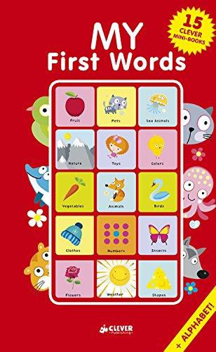 My First Words: 15 Clever Mini-Books Box Set (Clever Mini Board Books)