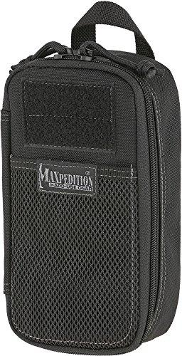 Maxpedition Skinny Pocket Organizer, Unisex-Erwachsene, Skinny Pocket Organizer (Black), schwarz, Einheitsgröße
