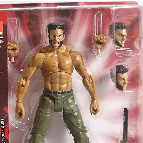 Anime Action Figurex-Men The Wolverine Logan PVC Action Figure Toy Model da Collezione 19Cm