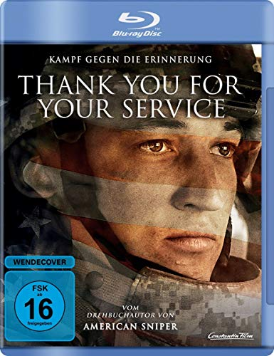 Thank You For Your Service [Blu-ray]